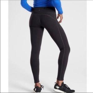 Athleta alpine valley tight legging black